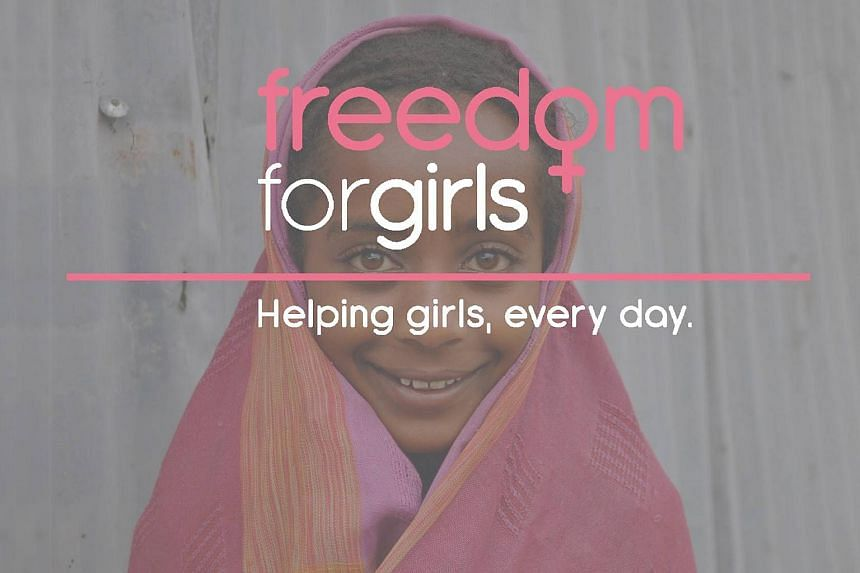 Women and girls in poverty are forced to improvise when they are on their period, according to the organisation Freedom4Girls.