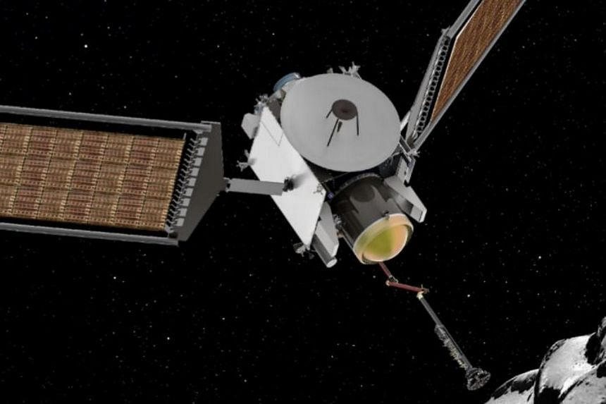 The CAESAR (Comet Astrobiology Exploration Sample Return) mission will acquire a sample from the nucleus of comet Churyumov-Gerasimenko, returning it safely to Earth.
