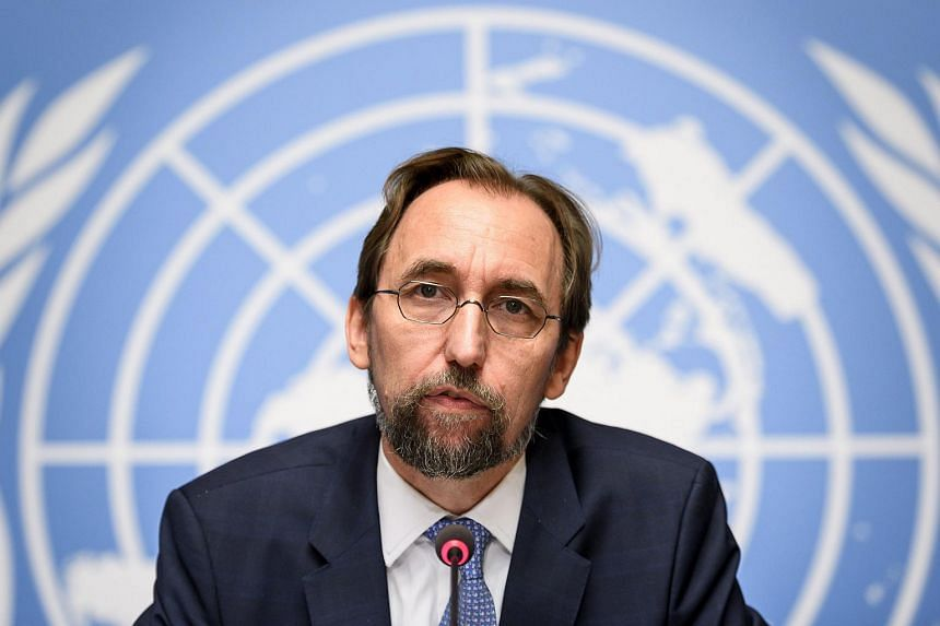 Mr Zeid Ra'ad Al Hussein, the UN High Commissioner for Human Rights, told staff in an e-mail he would not bargain away his agency's integrity.
