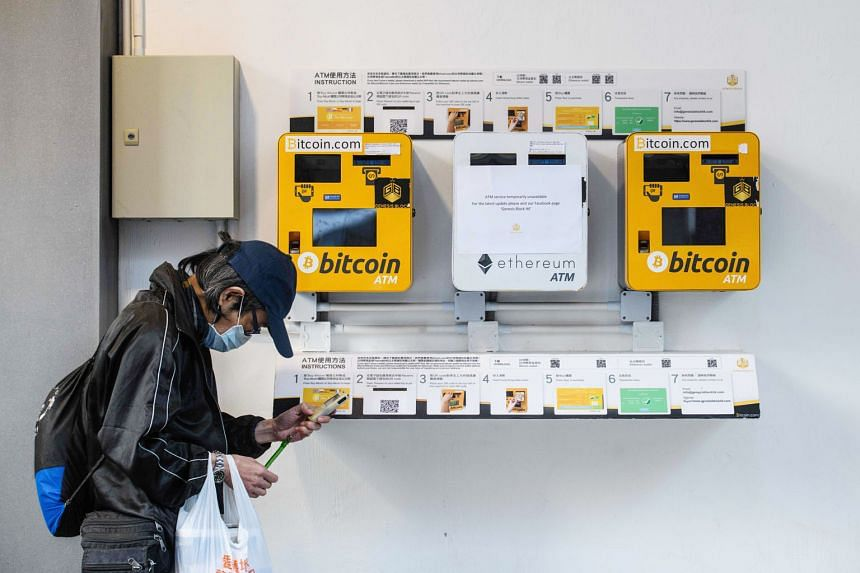 ATM machines for digital currencies in Hong Kong. Bitcoin's monumental gains this year have spurred caution and alarm among some policymakers.