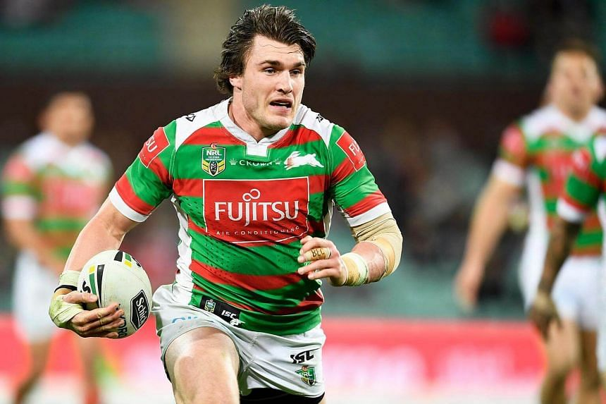 South Sydney Rabbitohs forward Angus Crichton has had his middle finger on his left hand cut off.