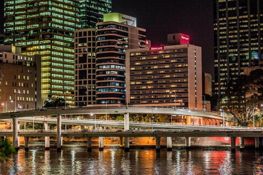 Mercure Brisbane and Ibis Brisbane are connected properties within a single site across from the Performing Arts Complex Centre and Brisbane Convention and Exhibition Centre.