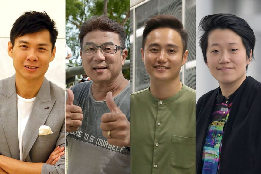 Singaporean film-makers (from left) Anthony Chen, Jack Neo, Boo Junfeng and Kirsten Tan were among the 50 who have signed a position paper calling on the authorities to reconsider proposed amendments to the Films Act.
