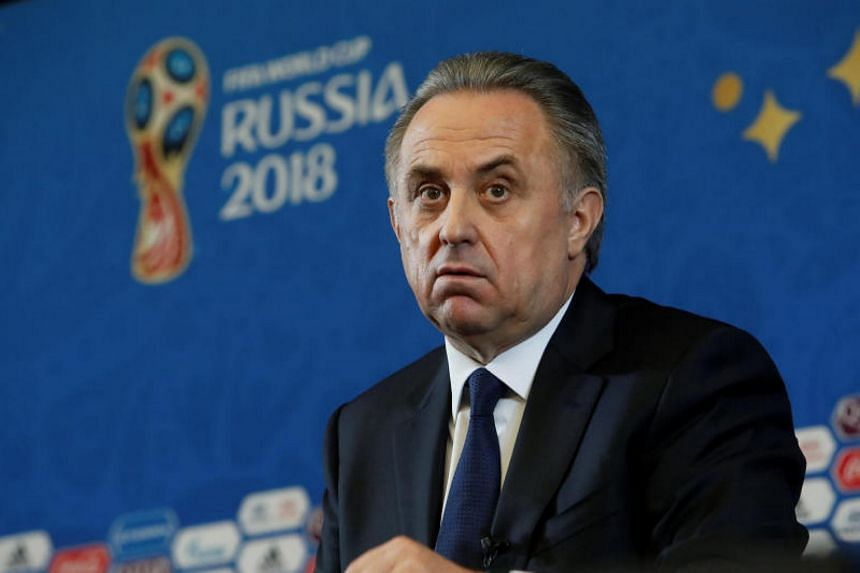 Several Russian news outlets reported that Vitaly Mutko would soon step down as the president of Russia's football federation.