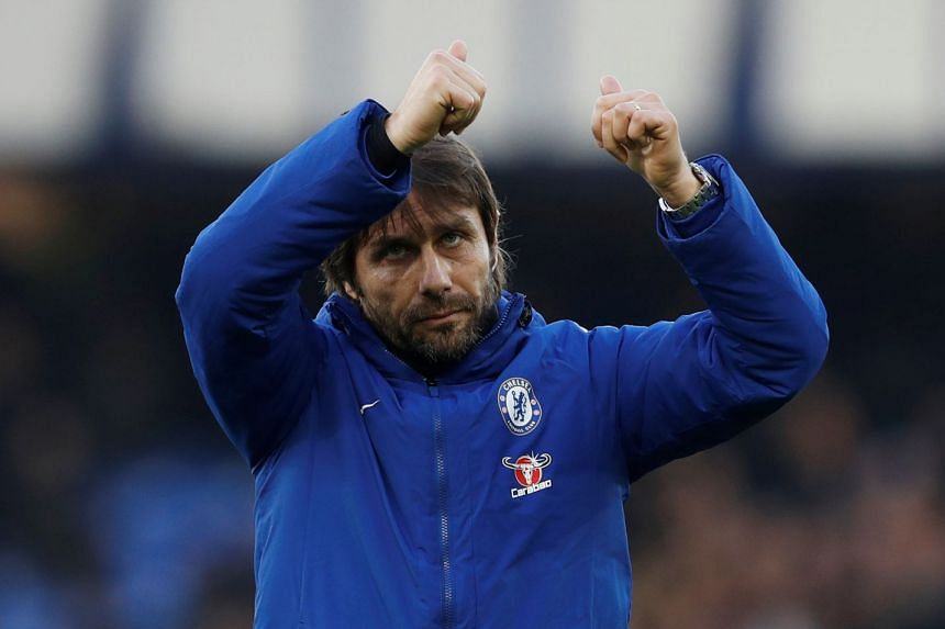 Chelsea manager Antonio Conte after the match.