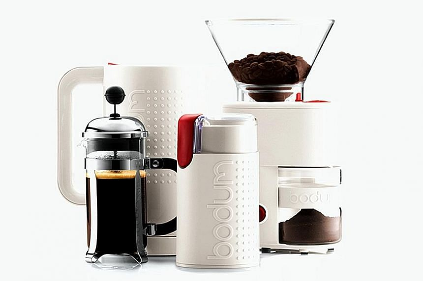 Bodum products are known for their sleek, simple design.