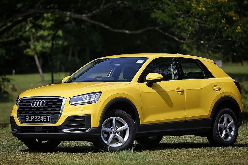 Suggested buys: 1. Audi Q2; Audi Q5; 3. Volkswagen Tiguan; 4. Volvo XC60; 5. Peugeot 3008; 6. Ford Kuga; 7. Kia Niro; 8. Jeep Renegade; 9. Range Rover Velar and 10. Mazda CX-9.