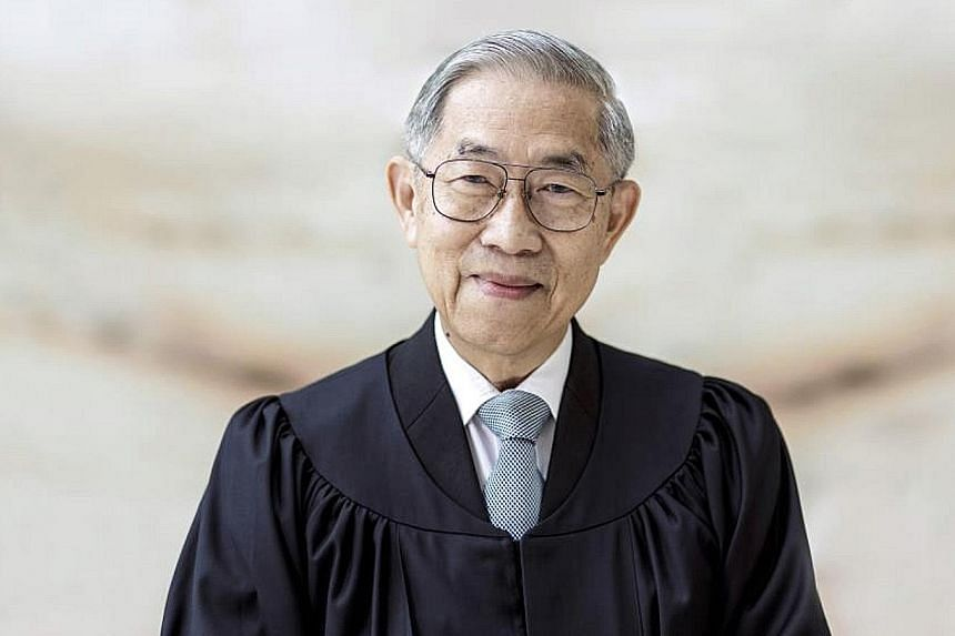 Justice Chao Hick Tin retired as a judge of appeal on Sept 28 after more than 50 years of public service. In his new appointment, Justice Chao will be a senior judge in the Court of Appeal.