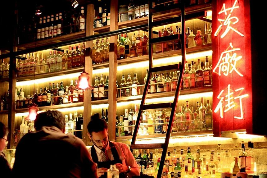 Also benefiting from the demand for high-end living are speakeasies that serve customised drinks created by mixologists.. PS150 (above), tucked into a corner of the Malaysian capital's Chinatown, is one such bar that quenches the thirst of the upper-middl
