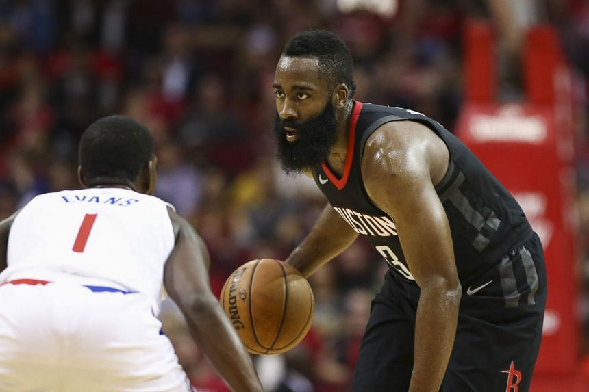 Houston Rockets' James Harden scored 51 points in 43 minutes during their game against the LA Clippers.