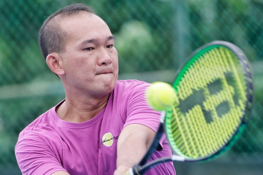 Tennis Jensen Hiu 36 Comes Out Of Retirement To Represent Singapore At Davis Cup Qualifiers Tennis News Top Stories The Straits Times