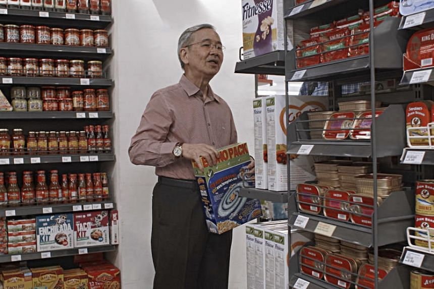 Malaysia's leading nutrition expert Tee E Siong, at a supermarket in Kuala Lumpur, on Nov 2, 2017. Few examples of close ties between the food industry and nutritionists are as striking as those held by Tee, who says scientists need cooperation and