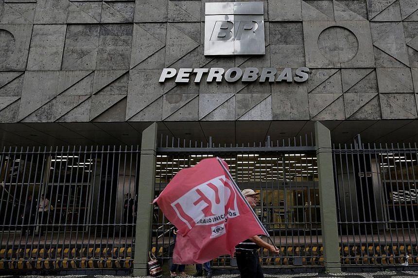 Brazilian state-owned oil giant Petrobras' headquarters in Rio de Janeiro. US court documents showed that between 2001 and 2011, Keppel O&M and Keppel O&M US executives created and executed agreements on behalf of the company with consulting firms. T