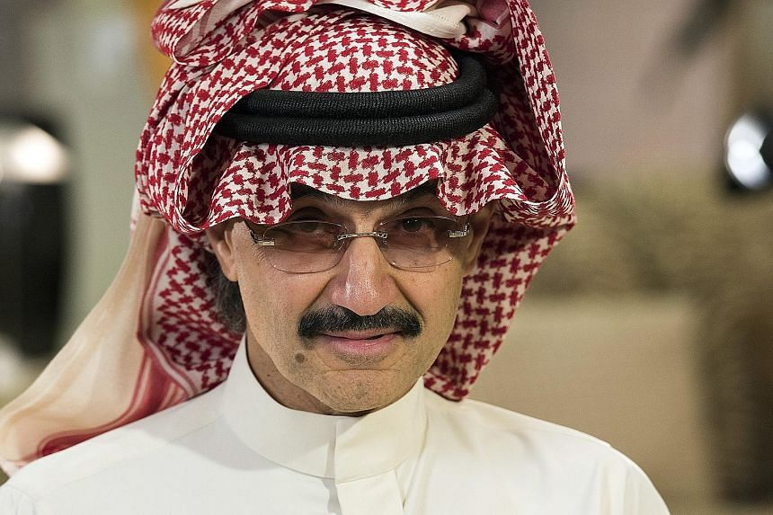 Prince Alwaleed bin Talal has been detained since early last month in a corruption probe.