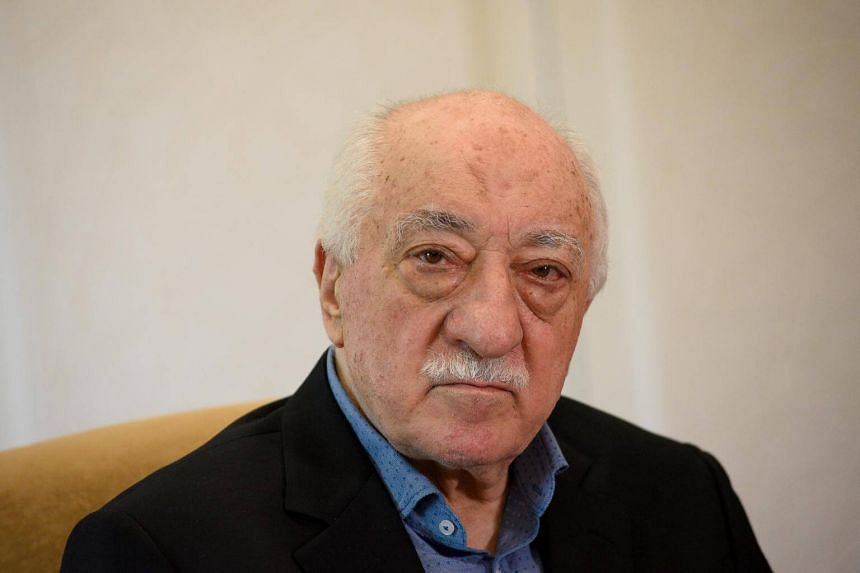 US-based Turkish cleric Fethullah Gulen at his home in Saylorsburg, Pennsylvania, on July 10, 2017.