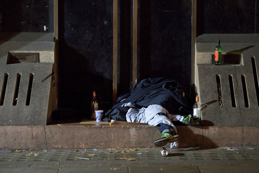 """Homelessness in Britain has shot up 134 per cent since 2011, leading MPs to describe the situation as """"appalling"""" and """"a national crisis""""."""