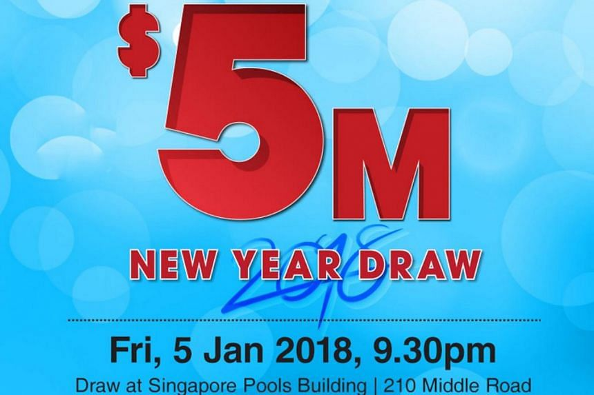 Singapore Pools to hold $5 million New Year Toto Draw on Jan 5 ...