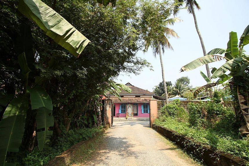The Bethlehem Abhaya Bhavan (above) in Koovappady, Kerala. The home houses some 500 people - the number varies from day to day - mostly vagrants picked up from the streets, almost all of them with mental health issues. Ms Mary Esthappan (left), a mot