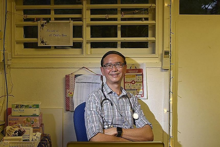 "Dr Goh Wei Leong's dream is to close HealthServe ""once there is enough public responsibility""."