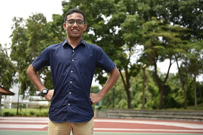 Muhammad Luqman Abdul Rahman has been performing CPR on people in the vicinity who need help.