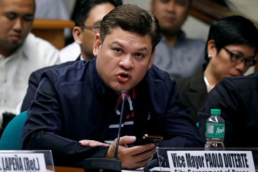 Davao vice-mayor Paolo Duterte resigned from his post on Dec 25, 2017.