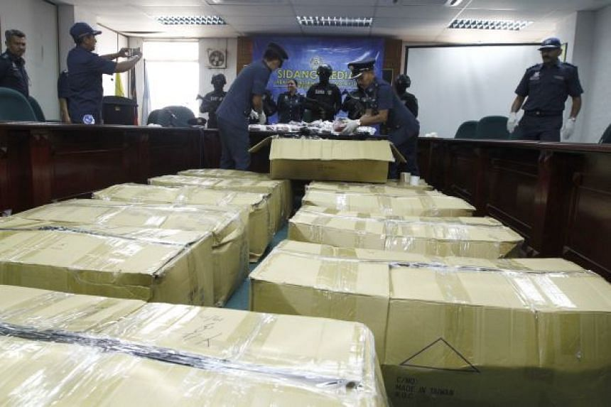 A total of 1,541,000 Eramin 5 pills in 12 boxes were seized.