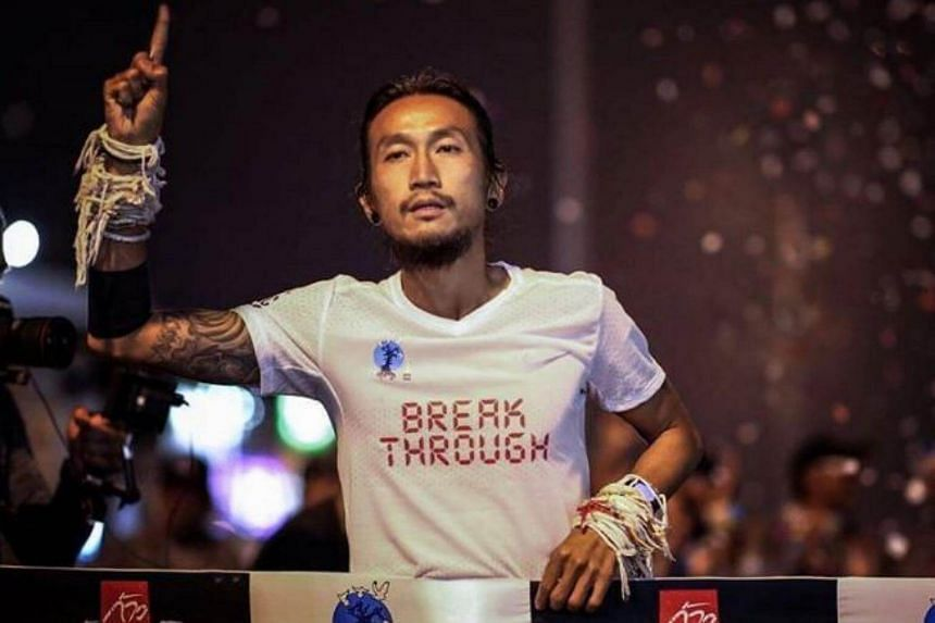Artiwara Kongmalai, better known as Toon Bodyslam, completed his 2,214km run from Thailand's southernmost corner to its northernmost tip on Christmas.