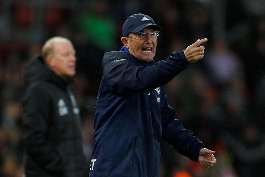 Tony Pulis joins Middlesbrough after being sacked by West Brom last month.