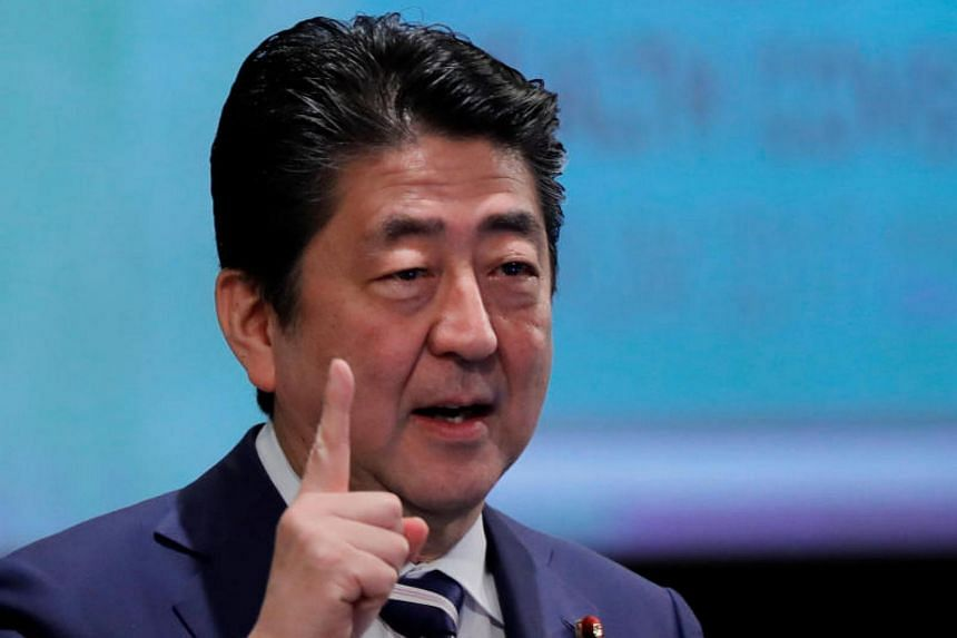Japanese PM Shinzo Abe urged companies to raise wages by 3 per cent or more in 2018.