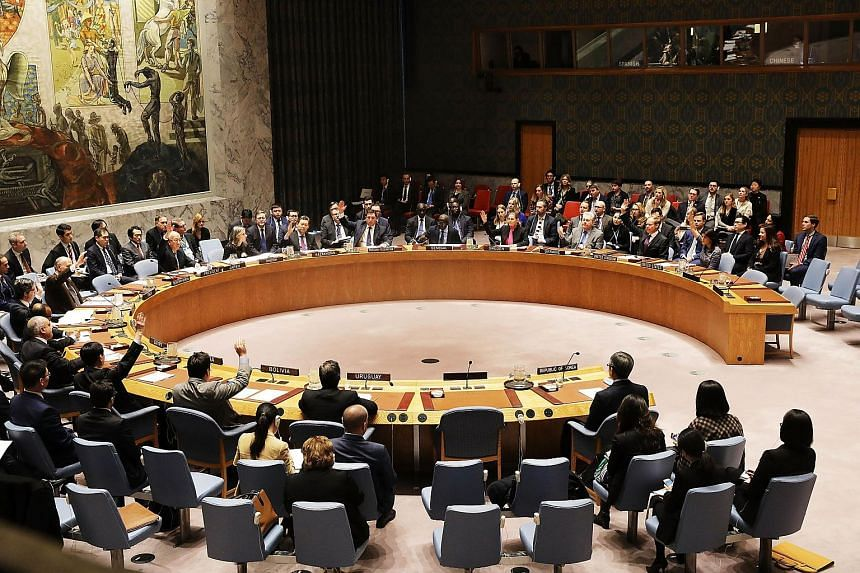 The United Nations Security Council unanimously imposed new sanctions on North Korea for its recent intercontinental ballistic missile test.