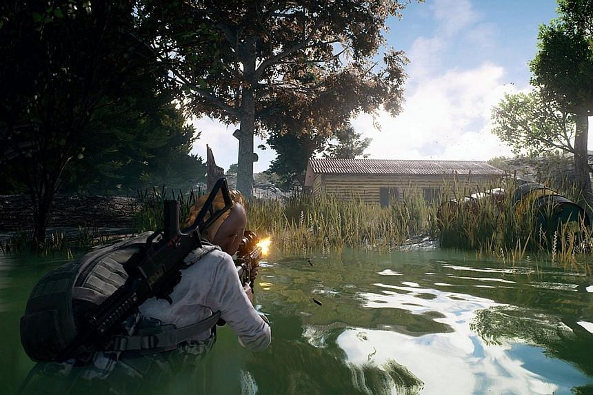 In PlayerUnknown's Battlegrounds, the player's survival depends on luck as much as skill, for where you land dictates whether you can find weapons and resources.