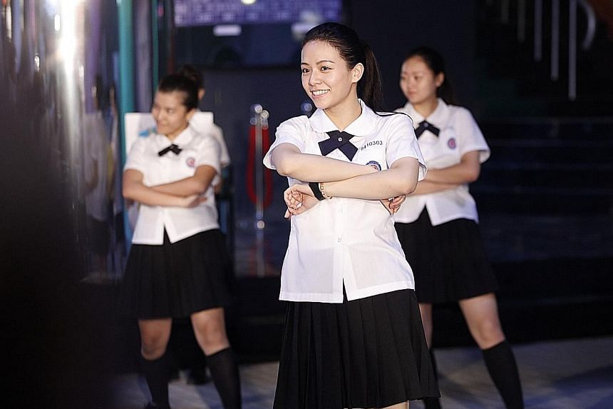 Vivian Sung plays a girl with pop star dreams in Take Me To The Moon.