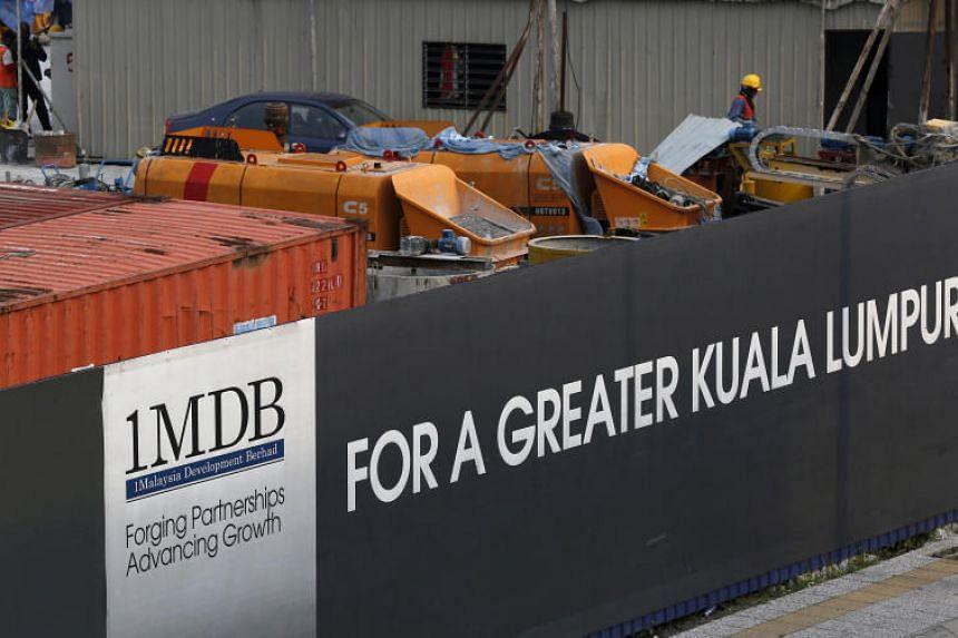 Site of the 1MDB flagship Tun Razak Exchange development in Kuala Lumpur on March 1, 2015.