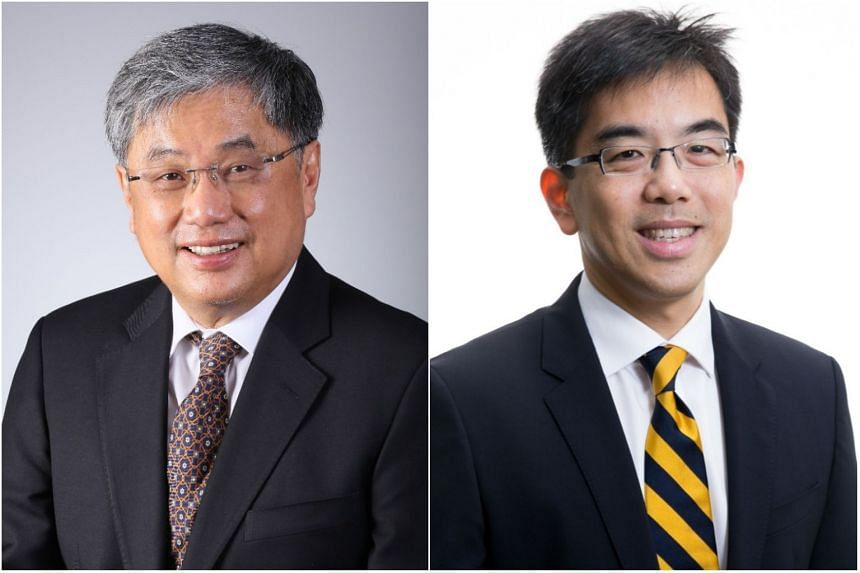Professor Soo Khee Chee (left) will be retiring from SingHealth on Dec 31. In his place, Professor Wong Tien Yin will be appointed SingHealth's deputy group CEO in research and education with effect from Jan 1, 2018.