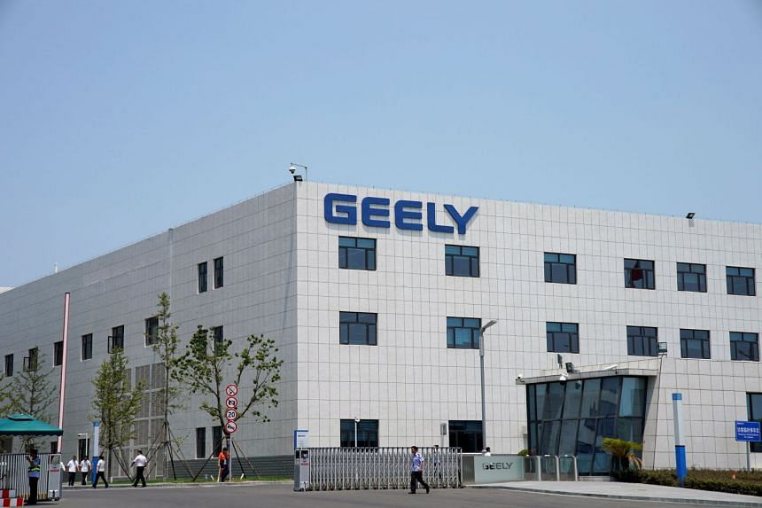 A building of the Geely Auto Research Institute is seen in Ningbo, Zhejiang province, China.