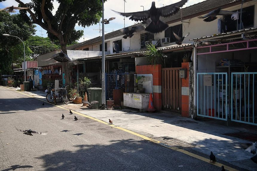 Private terrace houses along Geylang Lorong 3 with a 60-year lease that ends in three years' time. The owners have to vacate their property with no compensation.