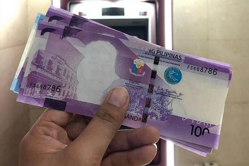 The Philippine central bank accidentally released 100-peso bills with former president Manuel Roxas' face left out.