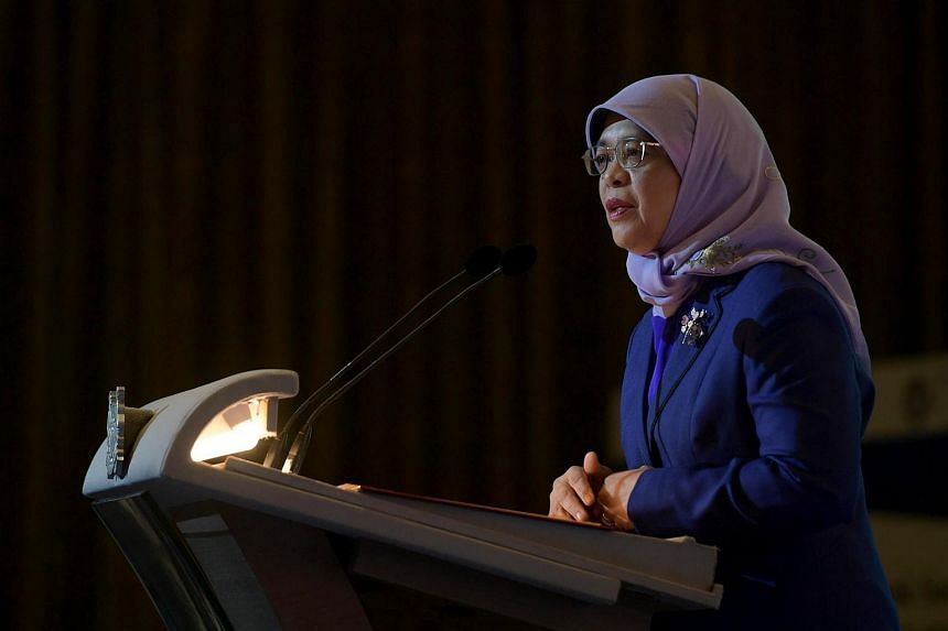 President Halimah Yacob has conveyed condolences to Philippine President Rodrigo Duterte over the lives lost after tropical storms struck the Philippines in December.