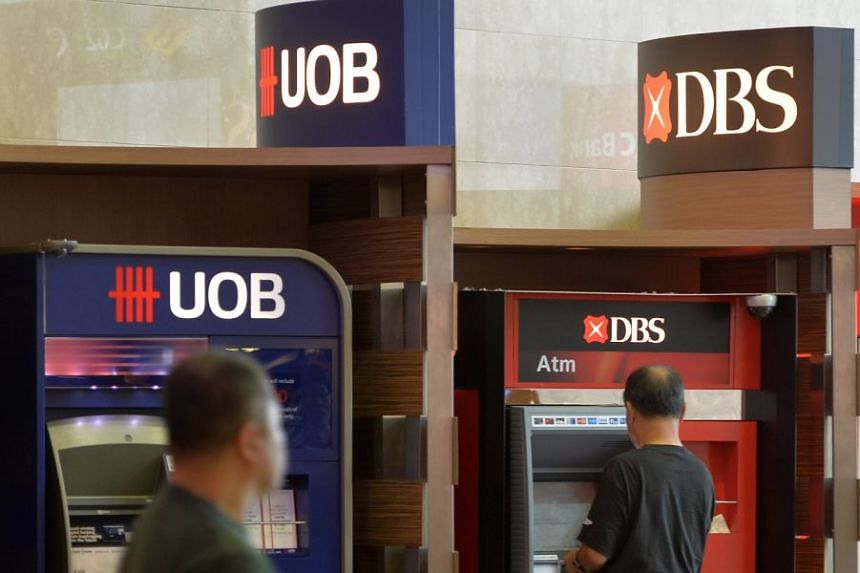 Gains in DBS Group Holdings and United Overseas Bank pushed the benchmark Straits Times Index up 13.51 points to 3,391.67, with about 1.25 billion shares worth $616.6 million changing hands.