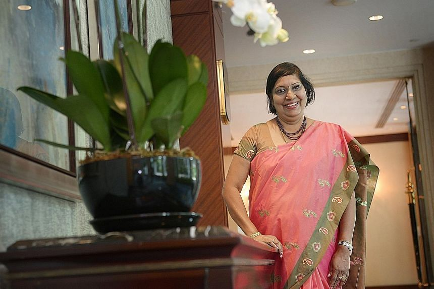 Mrs Manokara Sugunavathi, who will be principal of Cantonment Primary School, has 331/2 years of service under her belt, and was Jurong Primary's principal before this. She says parents have been conventionally exposed to very academic-driven goals f