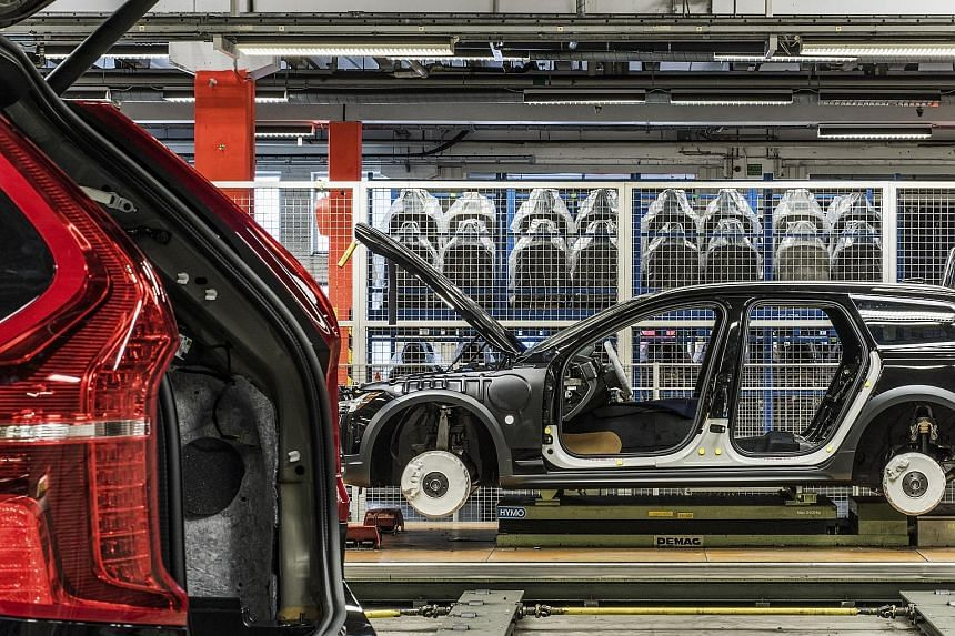 A Volvo factory in Sweden. Zhejiang Geely Holding Group plans to buyCevian's 88.5 million Class A Volvo shares and 78.8 million Class B shares, the companies said.