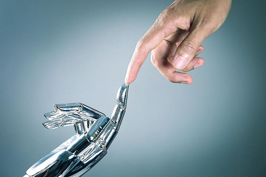 Banks are taking a man-machine partnership approach to offer clients smart portfolio management solutions. Even as robots creep into private banking and wealth management, the human touch will remain just as important as ever before, the banks say. D