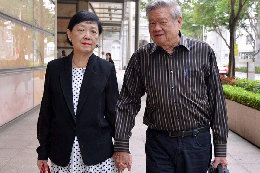 Mr Ong Han Ling and his wife Enny Ariandini Pramana sued AIA in 2012 over a fake US$5.06 million (S$6.8 million) policy they had bought from a rogue top agent.