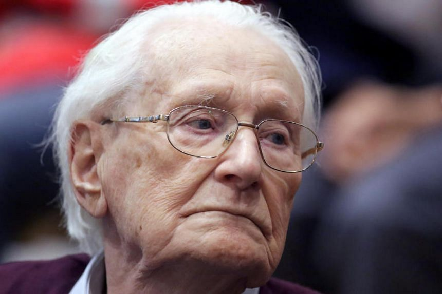 "Oskar Groening is known as the ""bookkeeper of Auschwitz"" for his job counting cash taken from the Nazi death camp's victims during World War Two."