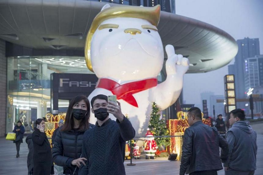 China mall erects giant Trump dog statue, East Asia News & Top