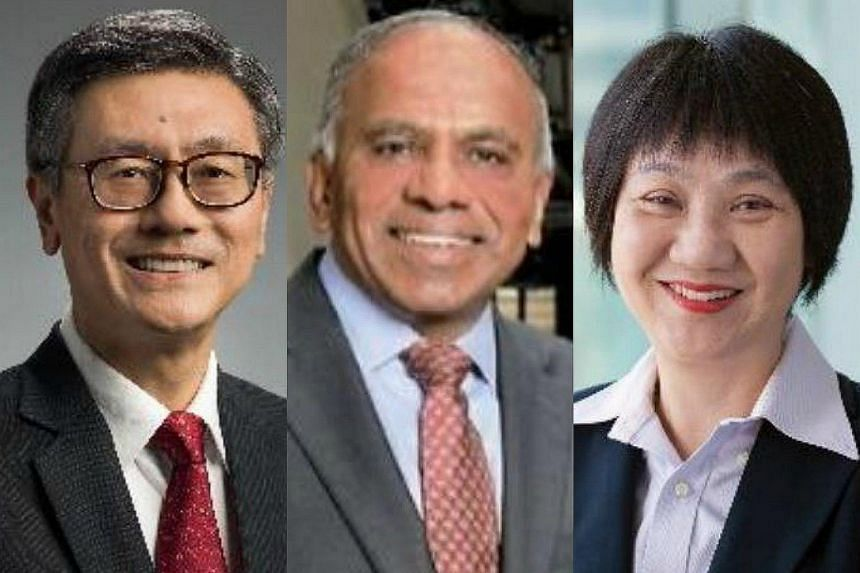 (From left) Professor Tan Eng Chye, Professor Subra Suresh and Dr Josephine Kwa.
