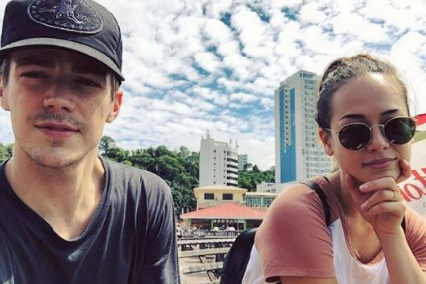 Thomas Grant Gustin was in Sabah for a customary wedding with his fiancee Andrea Thoma.