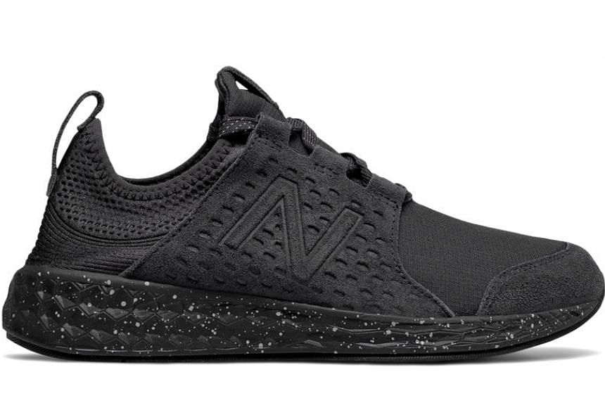 This trendy-looking pair of sneakers is designed to protect your feet from any weather. PHOTO: NEW BALANCE