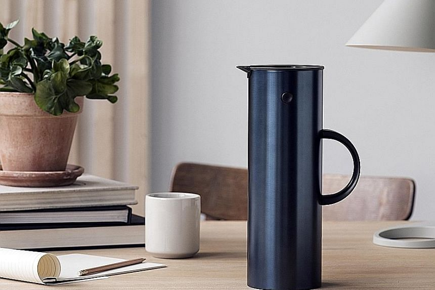 """Online homeware retailer Bibliotek Design Store now carries products by Danish brand Stelton, including its iconic EM77 Vacuum Jug (left). Khoo Teck Puat Hospital has a """"hospital in a garden, and a garden in a hospital"""" concept. Wandewoo focuses on h"""