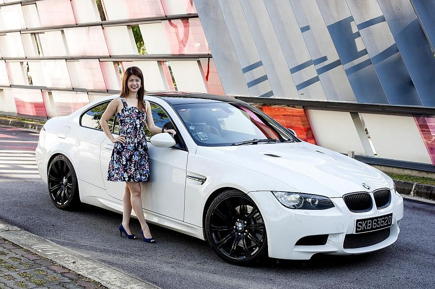 Ms Lyn Edel Yip bought her BMW M3 Coupe for swifter daily commutes.